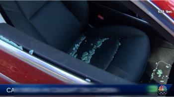 汽車遭破窗偷筆電 2竊賊全都錄