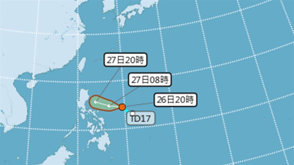 最新路徑曝光!楊柳颱風恐生成 這天防雨彈炸