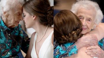 就想給102歲嬤看一眼!準新娘披白紗 結局逼哭眾人