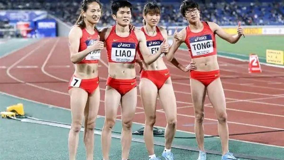 褲襠一包?女田徑選手聲音像男 澄清網不信