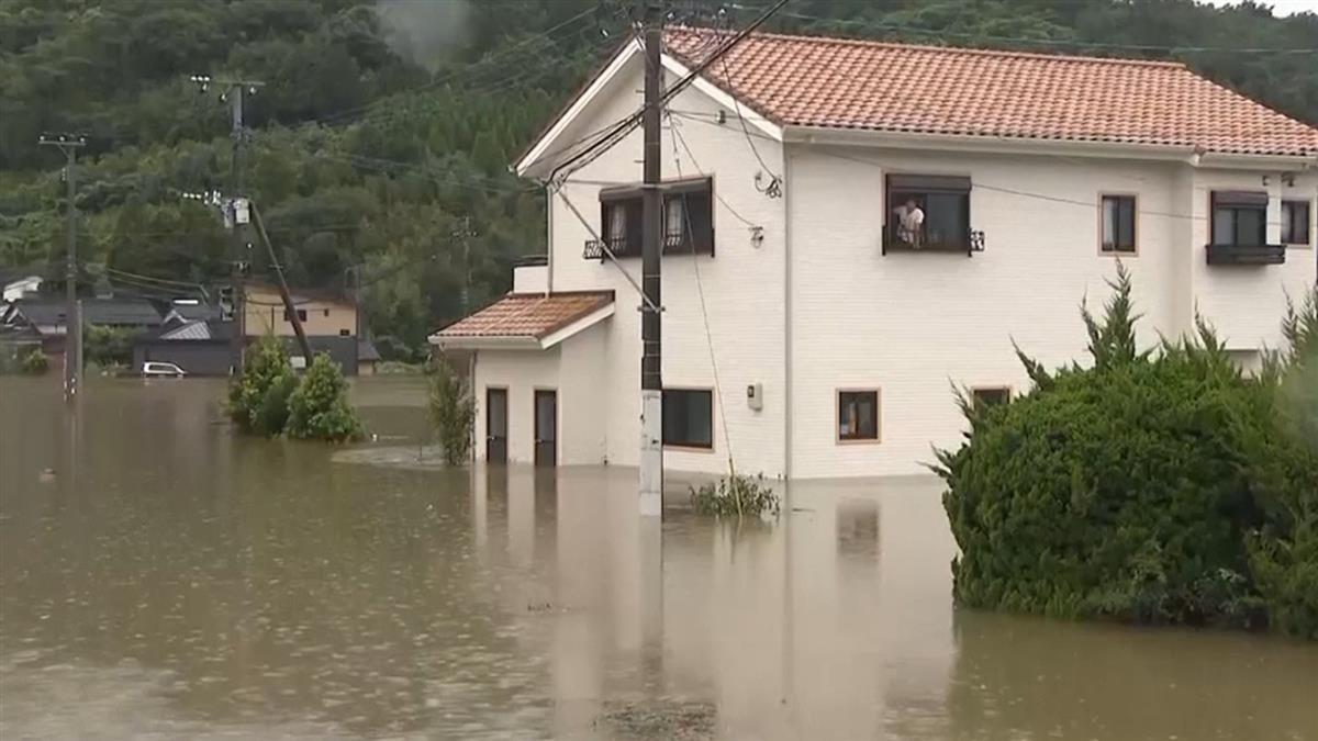 遊日注意!九州暴雨釀2死 85萬民眾急避難