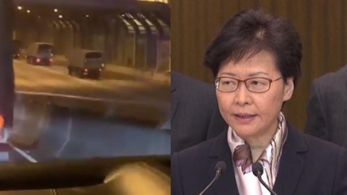 大批解放軍進香港街頭 新華社:駐軍第22次輪換