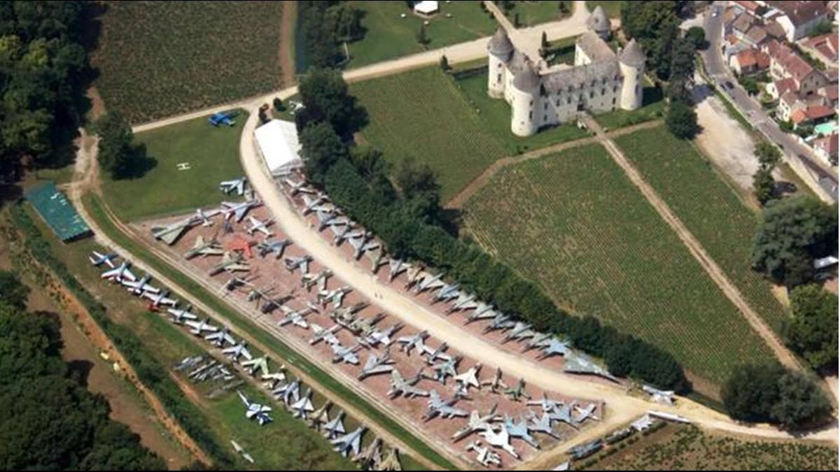 史上最狂收藏家!?  法國土豪擁110架戰鬥機創世界紀錄
