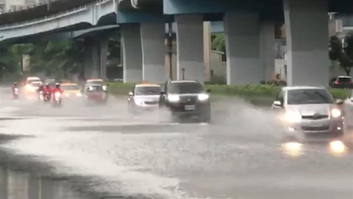 3縣市豪、大雨警戒!雨彈炸北台 玲玲下周生成