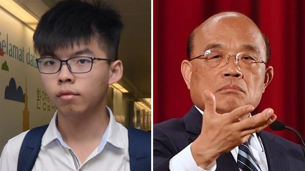 港社運人士遭捕!蘇揆:台灣人無法接受這種統治