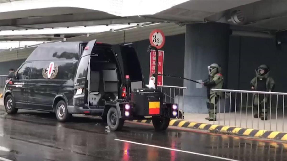 小港機場接恐嚇信 驚傳遭放爆裂物