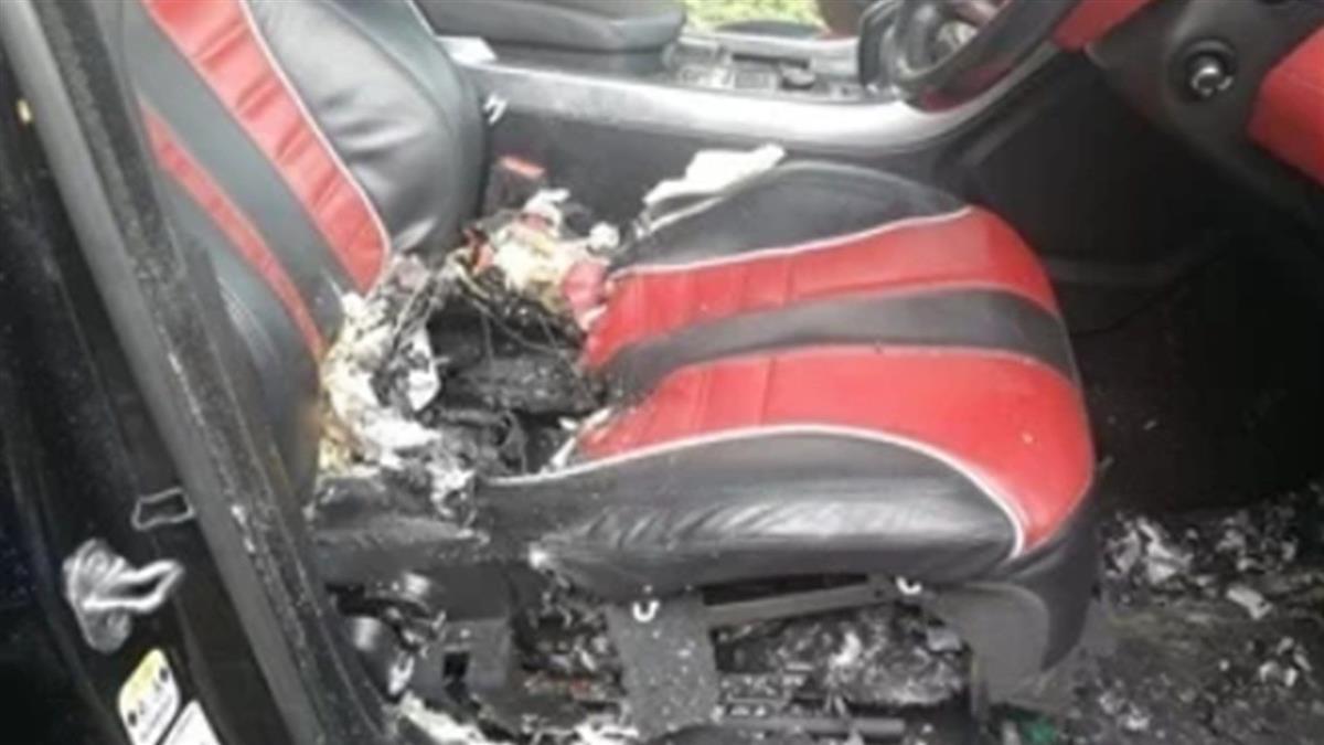詭!百萬名車駕駛座突爆炸 富少下體燒毀噴血