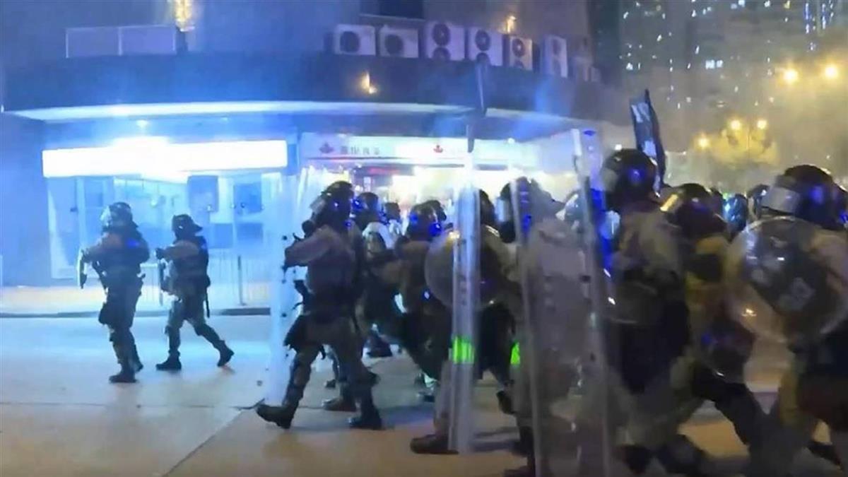 挺港反送中!東華大學僑生被控「暴動罪」遭捕