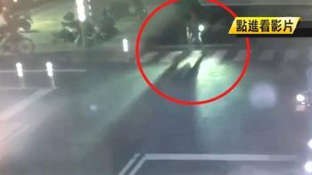 82歲婦晨運過馬路!遭機車撞飛50公尺 斷腿慘死