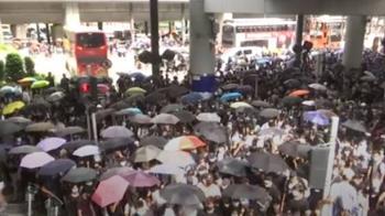 發動罷課!港警地鐵逮捕3人 民哭喊:為何抓我?