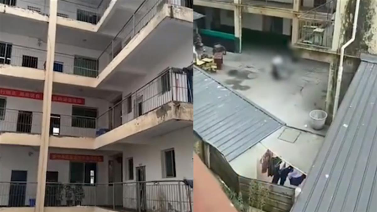 高一生開學玩抱抱!欄杆突斷裂…墜5樓慘死