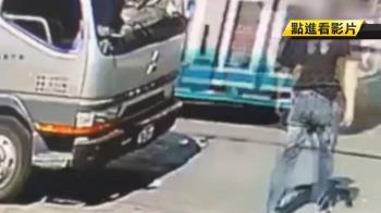 貨車沒拔鑰匙遭竊賊開走 熱心騎士載司機追車