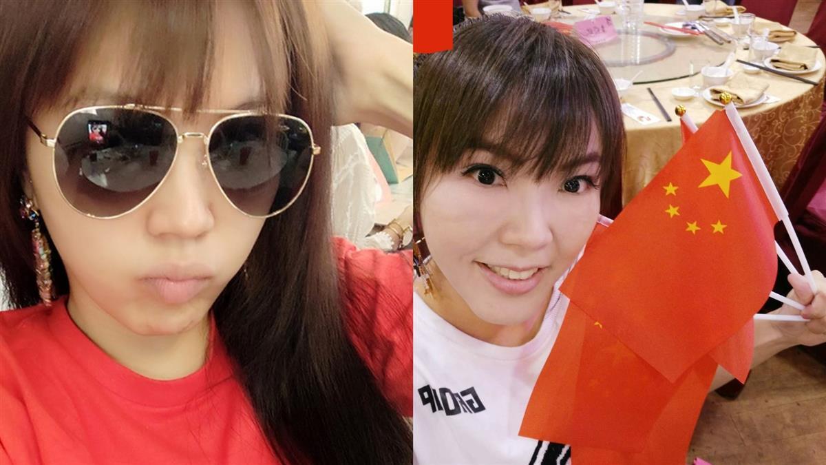 劉樂妍穿「紅色5字T」遊台!閨蜜羞買口罩