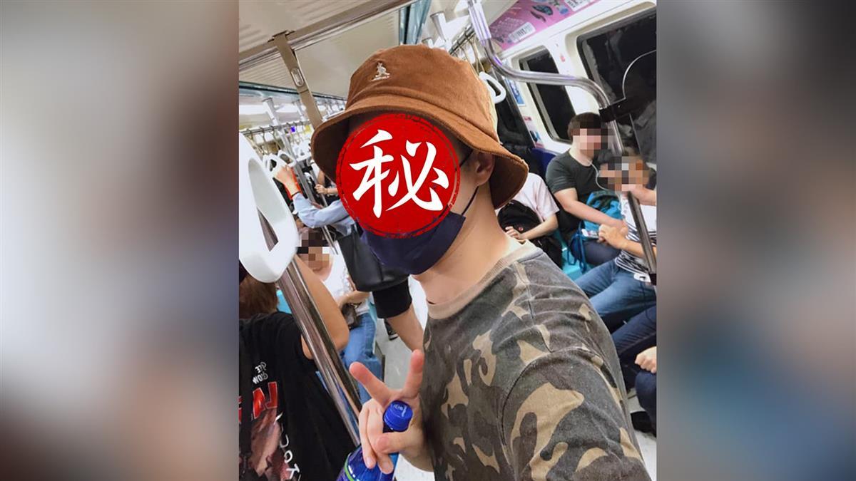 驚!北捷捕獲野生男神 粉絲暴動嗨求巧遇