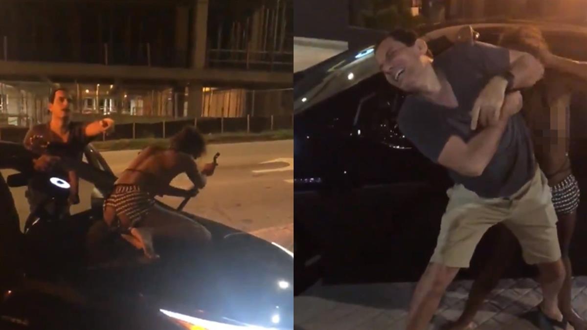 Uber拒載!辣妹硬上掰斷雨刷 變喪屍狠咬司機