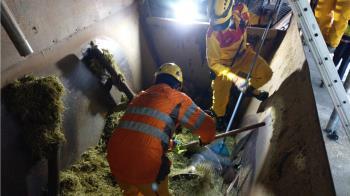 來不及斷電!台南畜牧場女員工墜攪拌機慘死