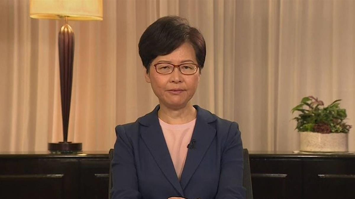 港特首林鄭月娥記者會 宣布撤回送中修例方案