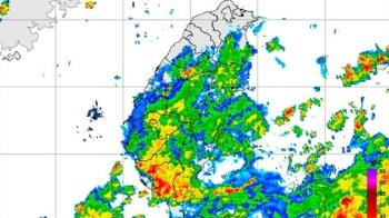 低壓挾雨彈!4縣市發布豪、大雨特報