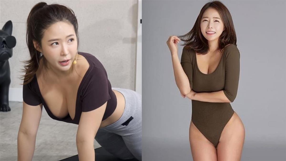 韓國瑜珈老師要生了!罩杯再升級 彎腰晃乳快掉出