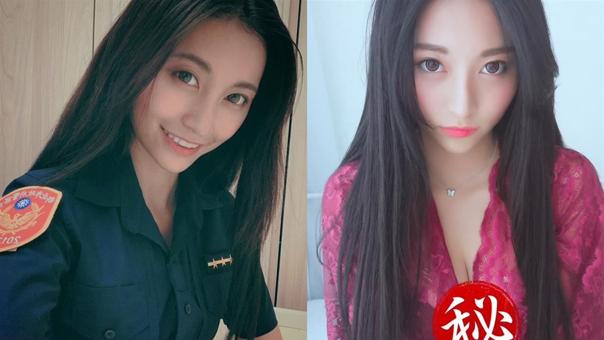 撞臉周子瑜!「最美女警」炸G波 網:想被逮捕