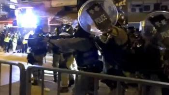 旺角示威放火多人被捕 港鐵設施受損曾封3站