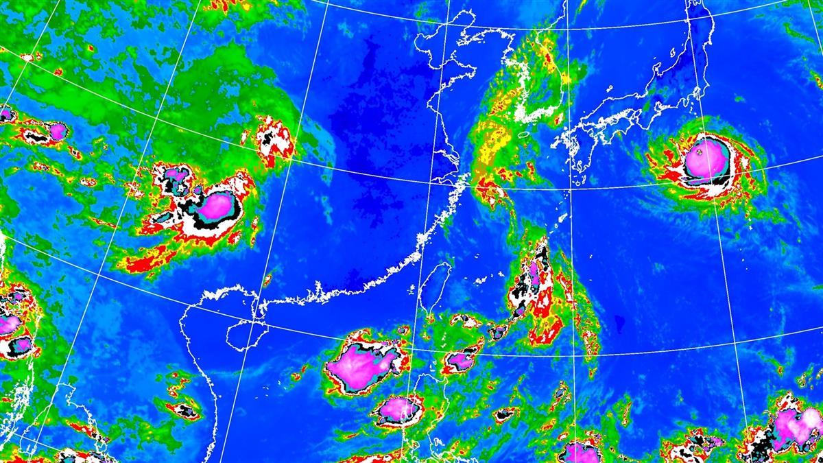 低壓帶包圍 全台防雷雨!第16號颱風下周恐生成