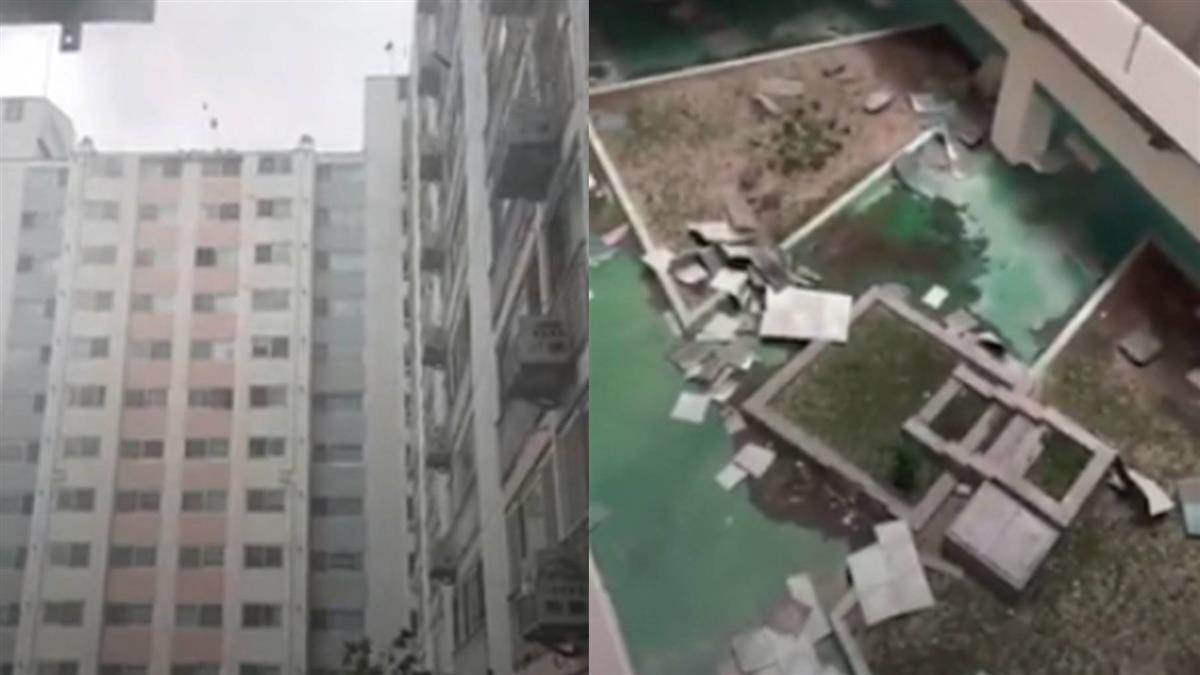 玲玲颱風挾帶強風豪雨!南韓全面戒備