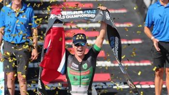 挪威選手三鐵奪冠!帽子成亮點 網讚:彰化之光