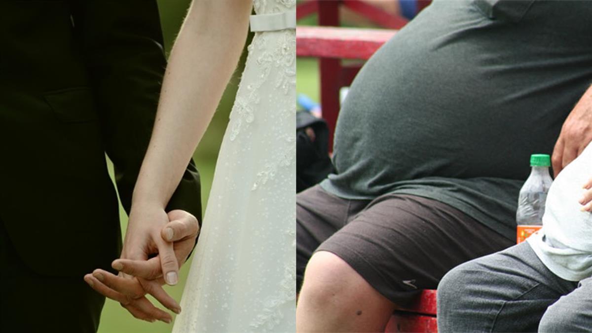 100KG男告白老婆:讓妳當最幸福的新娘!網淚崩
