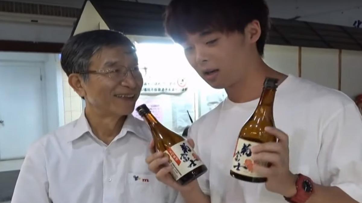 網紅三原擔任一日廠長 逗趣行銷國產清酒