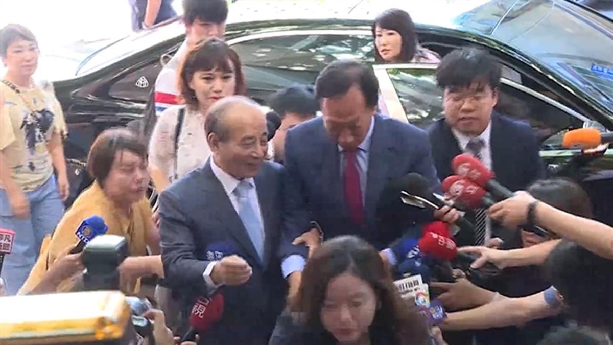 送完柯文哲月餅 郭台銘直奔立法院見王金平