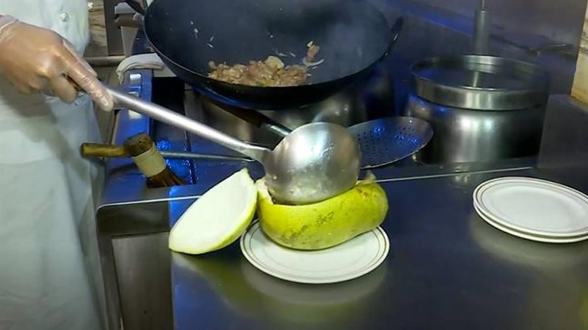 1柚多吃!柚子皮、果肉入菜成佳餚