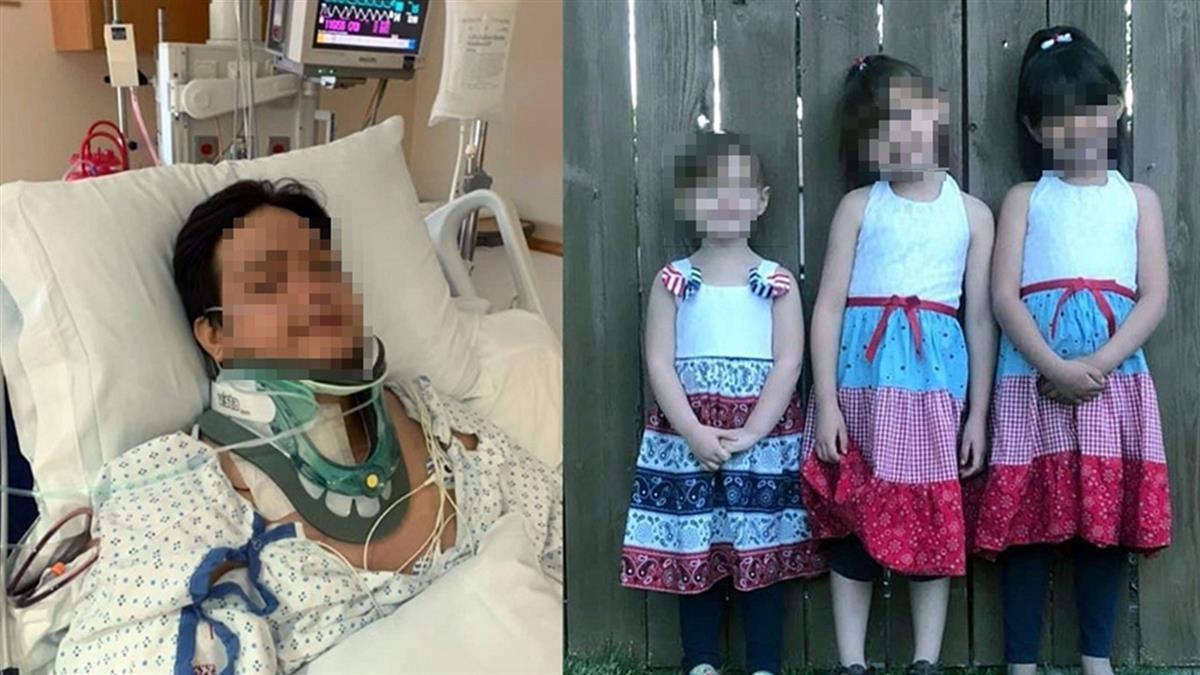 遭酒駕高速撞上 父半癱醒來…3幼女全沒了