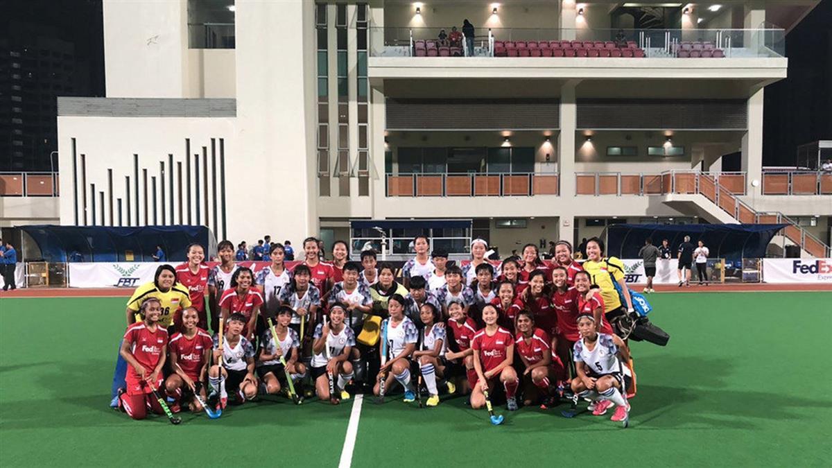 U21女子亞洲盃曲棍球 中華隊0:4不敵新加坡
