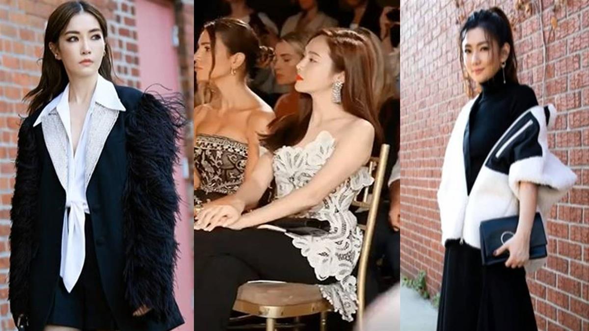 謝金燕出征紐約時裝週!辣秀性感「川字肌」