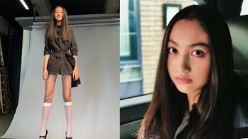 準備出道!任達華14歲女兒曝光 腿長100公分超吸睛