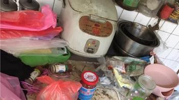 數10年沒清!婆家廚房養汙垢青苔 人妻急求救