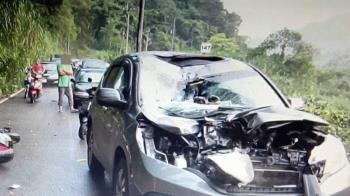 重機騎士酒後山路狂飆 自撞小客車身亡