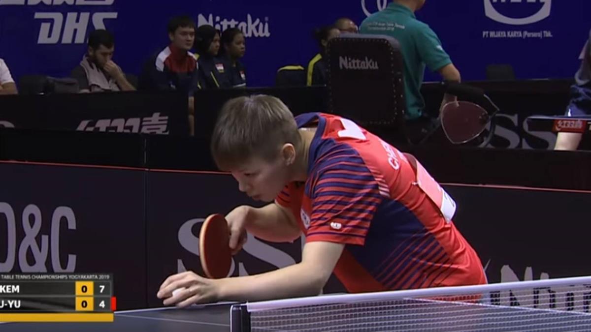 陳思羽包辦兩勝 女團19年後再闖桌球亞錦賽4強
