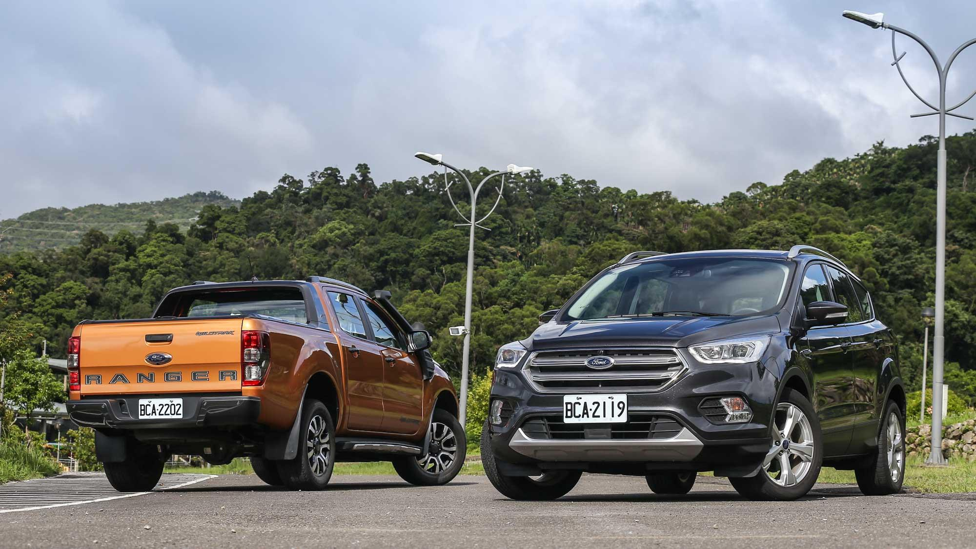 用安全作賣點,Ford Kuga 與 Ranger 要你多看它一眼