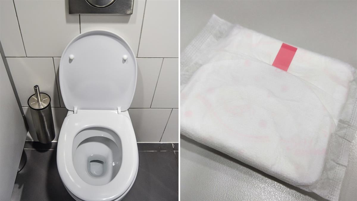 女遞衛生棉救友!她如廁見這幕…秒成靈異故事