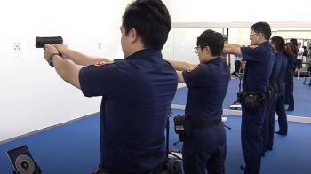 員警上樓就能訓練 警局廢棄倉庫變「戰技館」