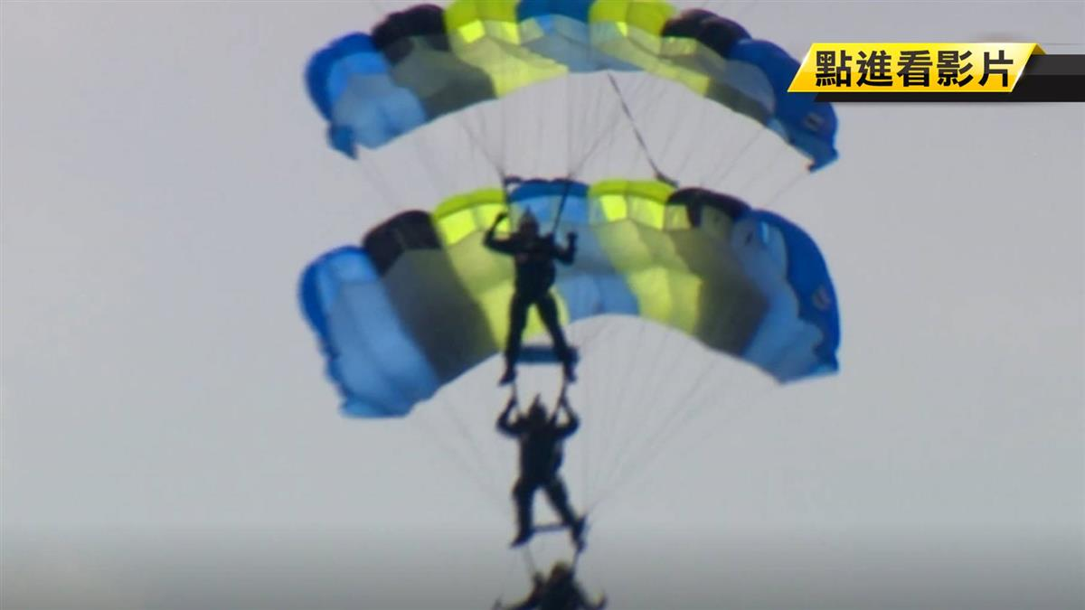 陸軍傘兵跳傘訓練 大武營區最後巡禮
