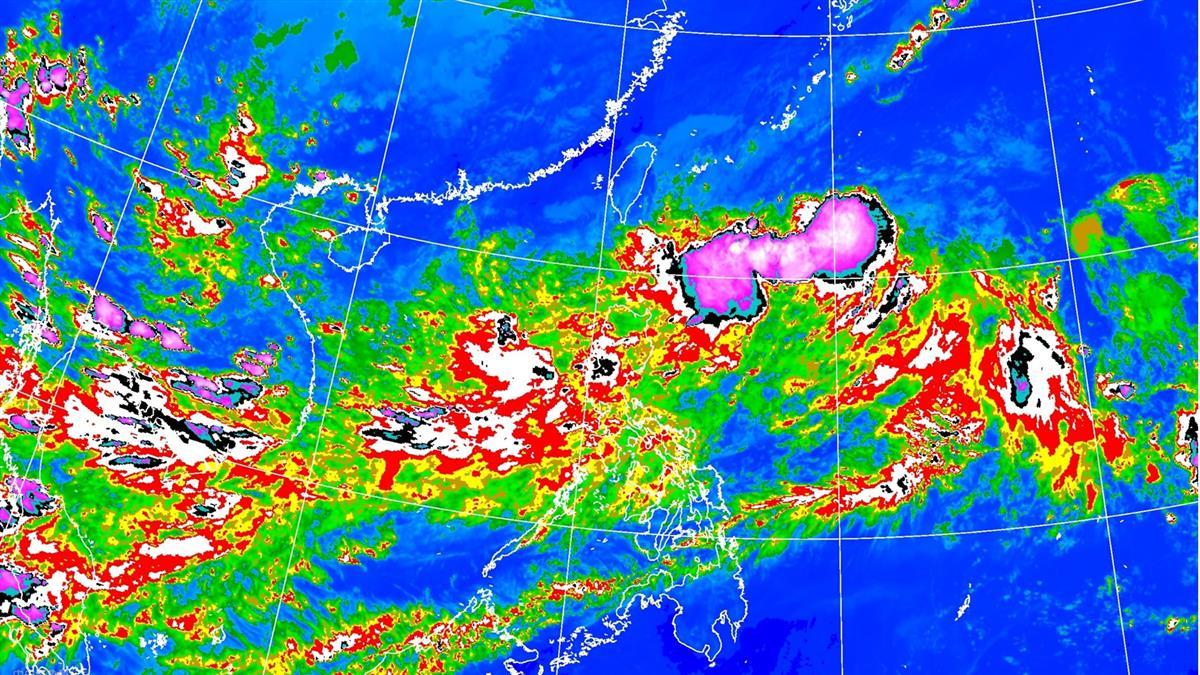 剉咧等!塔巴最快明成颱 這地方雨連下一周