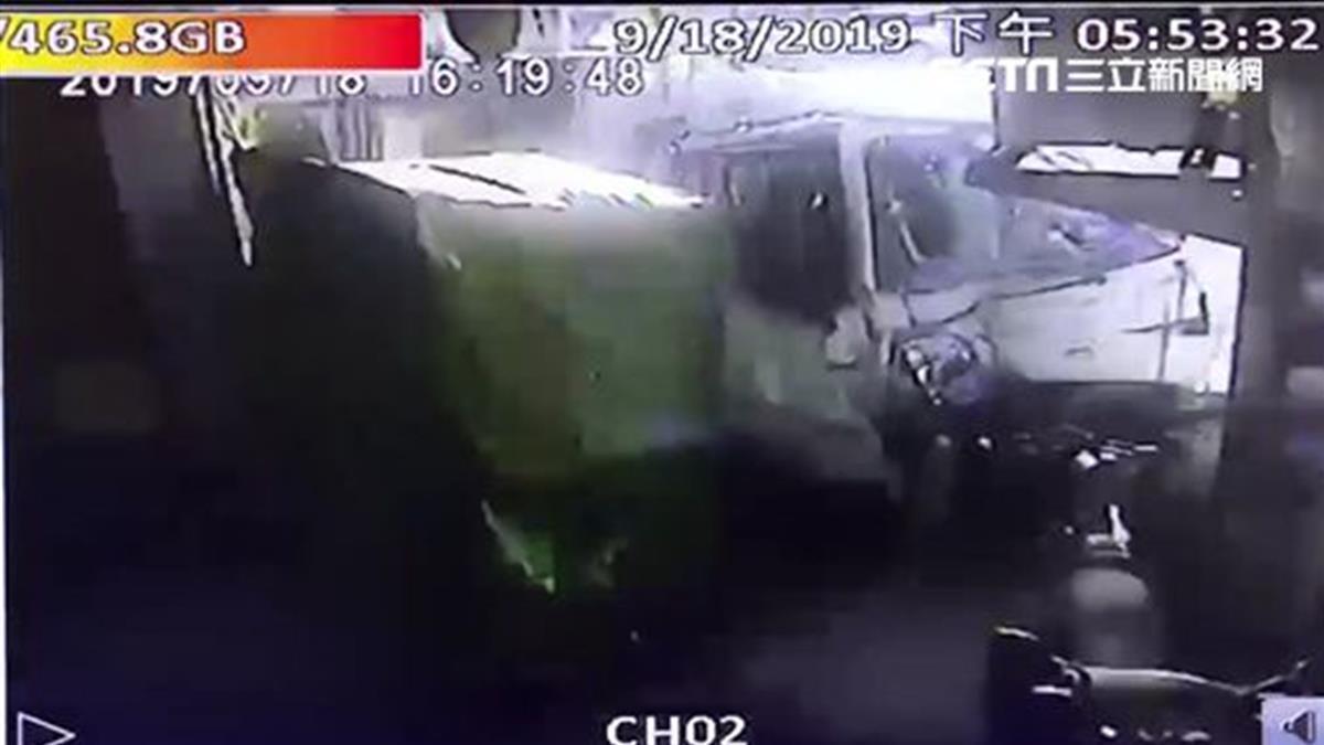 台中重大車禍!貨車司機恍神 連撞8車釀1死4傷