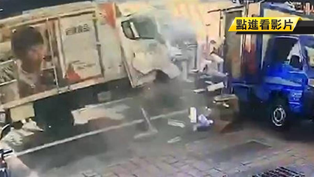 貨車駕駛自稱恍神 失控S型衝撞…毀8車釀1死4傷