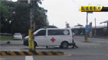 載病患闖紅燈撞死騎士 民間救護車駕駛送辦