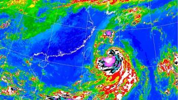 塔巴、東北風雙撲!低溫下探21度 降雨熱區曝光