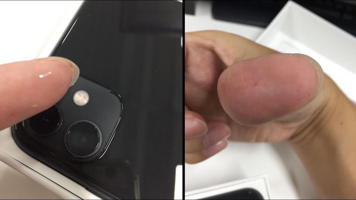 開賣首日就拿到機王?網開箱iPhone 11手指竟遭刺傷