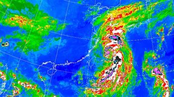 大豪雨炸北台!塔巴逼台6縣市警戒 降雨區曝
